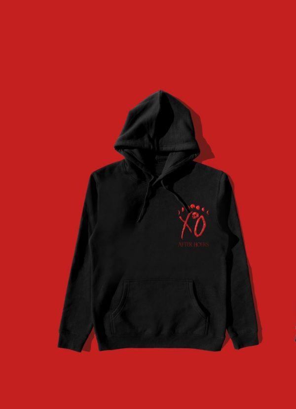 The Weeknd Merchandise Psychotic Pullover Black Jacket