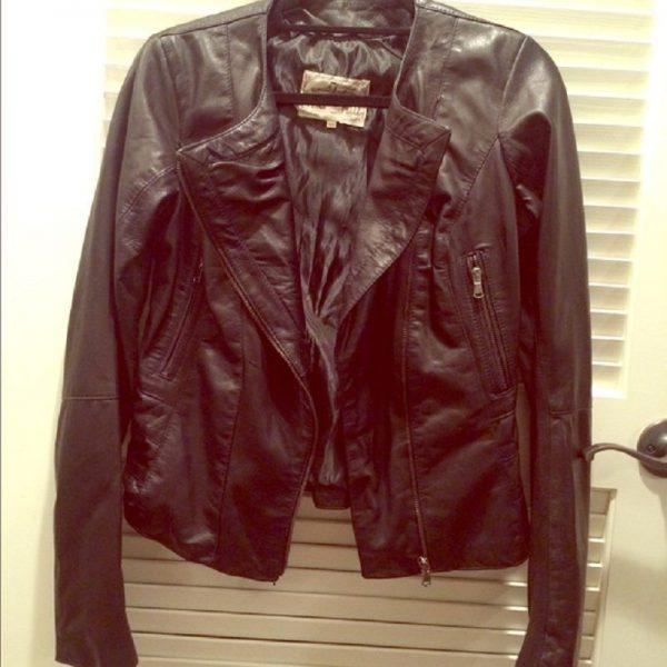 Vera Pelle Leather Jacket
