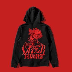 Weeknd Merchandise Psychotic Pullover Black Jacket