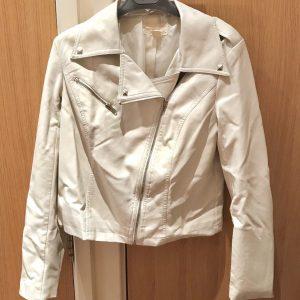 White Leather Jacket Forever 21