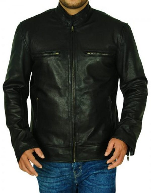 Willie G Skull Leather Jacket