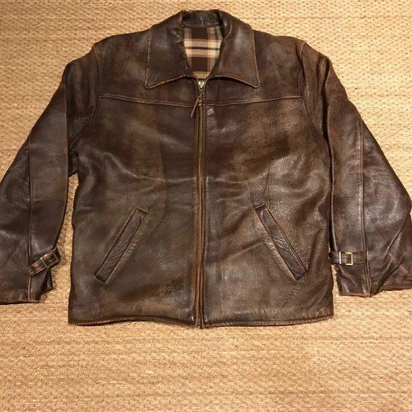 1940s Leather Jacket