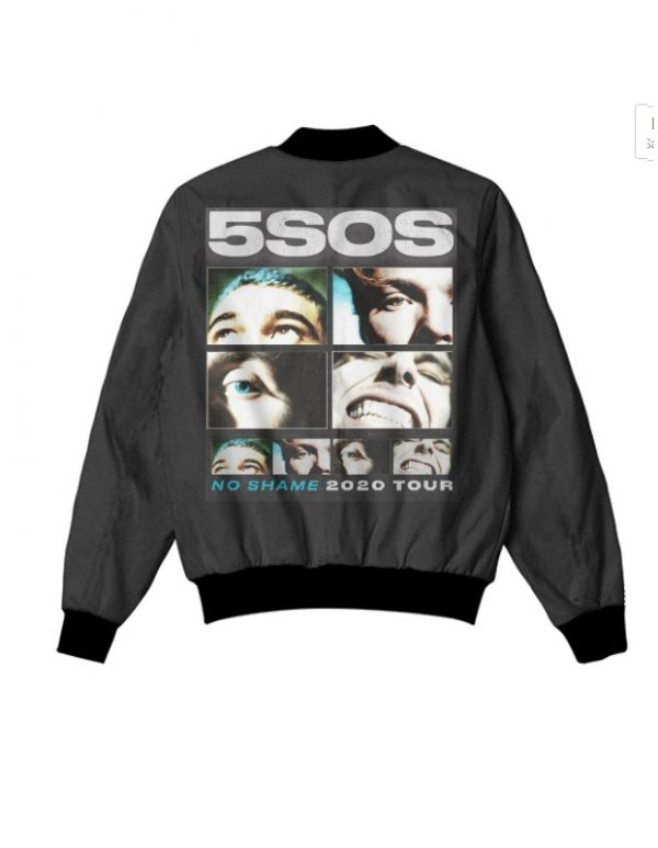 5 sos no shame tour 2020 jacket