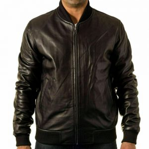 80s Style Leather Jacket