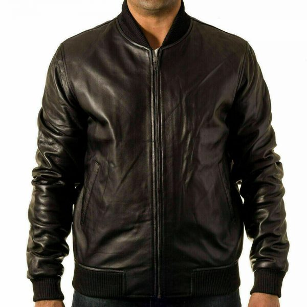 80s Style Leather Jacket