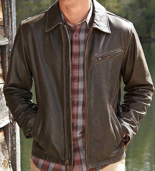 Eddie Bauer Journeyman Leather Jacket