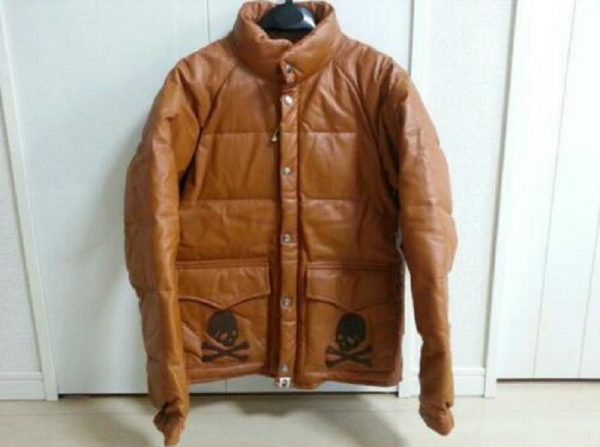 Bape Leather Jacket