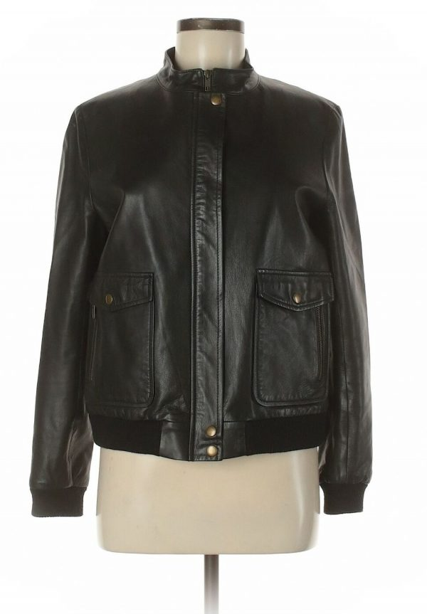 Billy Reid Leather Jacket
