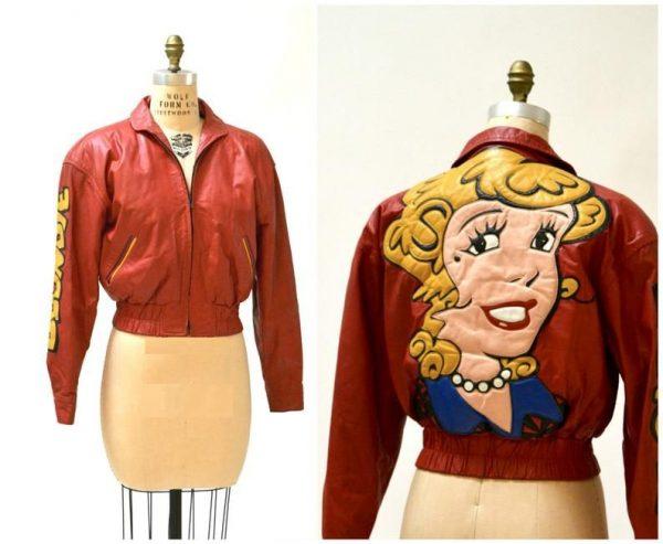 Cartoon Leathers Jacket