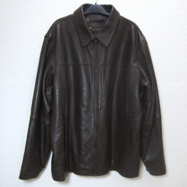 Claiborne Lambskin Leather Jacket