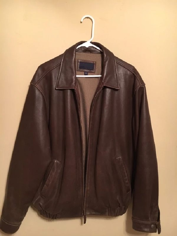Cremieux Leather Jacket