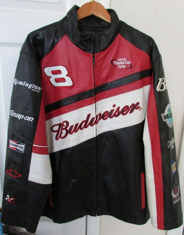 Dale Earnhardt Leather Jacket