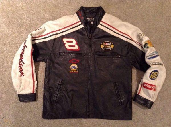 Dale Earnhardt Leather Jacket Chase Authentics