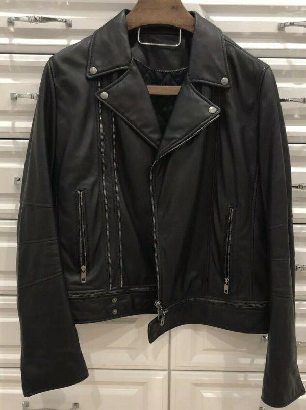 Dolce Gabbana Leather Jacket