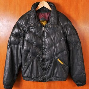 Double Goose Leather Jacket