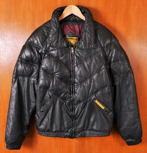 Double Goose Leather Jacket