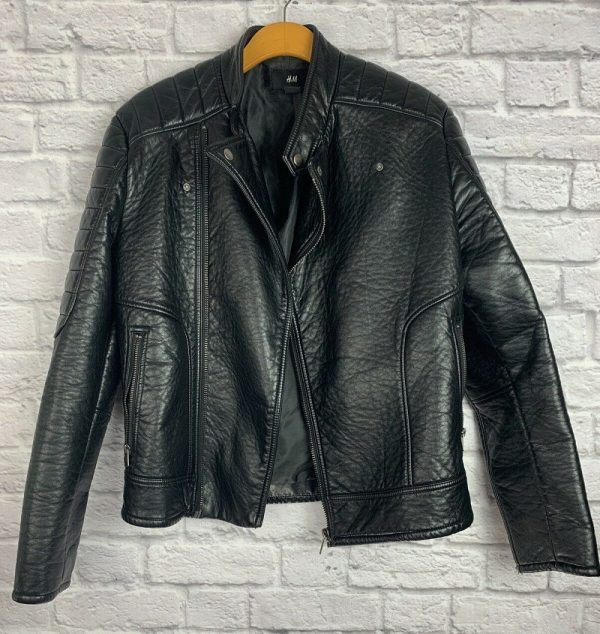 Faux Leather Jacket H&m