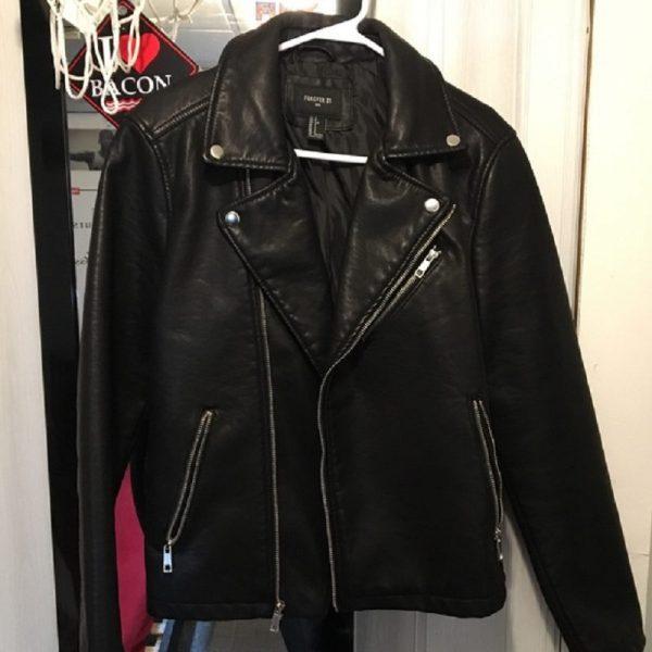 Forever 21 Mens Leather Jacket