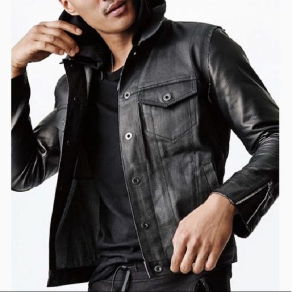 Gaps Gq Leather Jacket