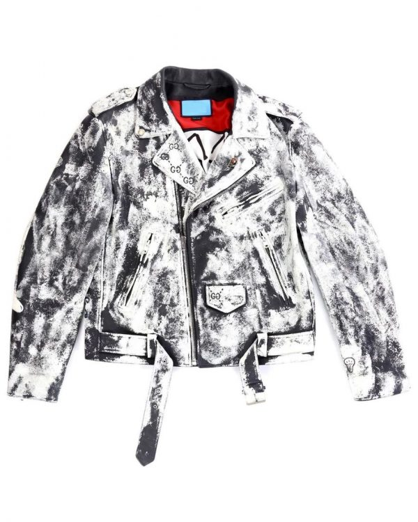 Gucci Ghosts Leather Jacket