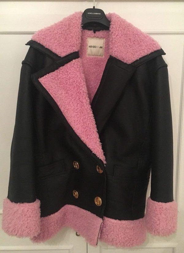 H&m Kenzos Leather Jacket