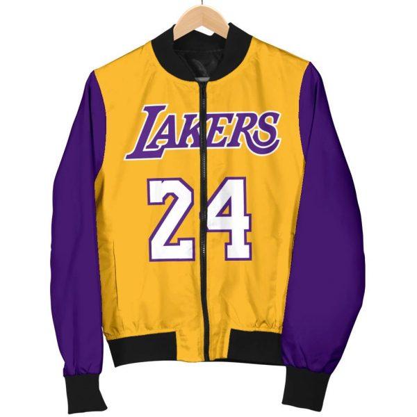 Kobe Bryant Leathers Jacket