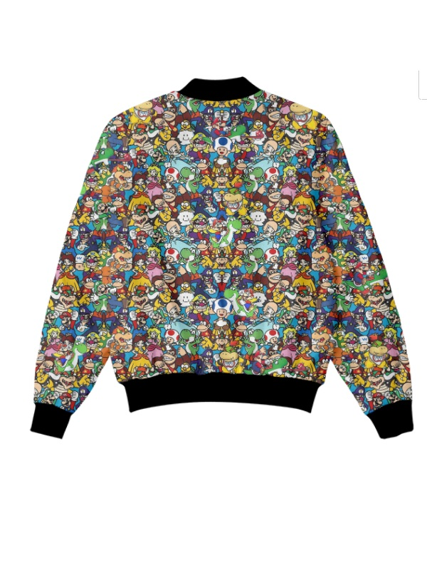 Levis Super Mario Bomber Jacket