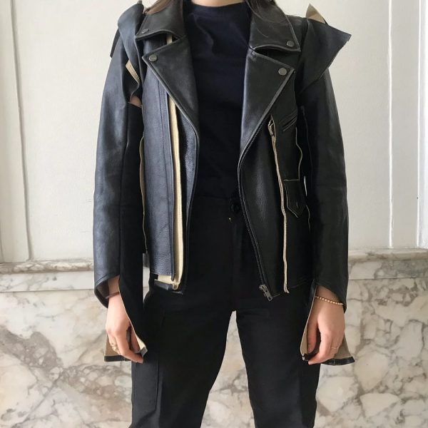 Margiela H&m Leather Jacket