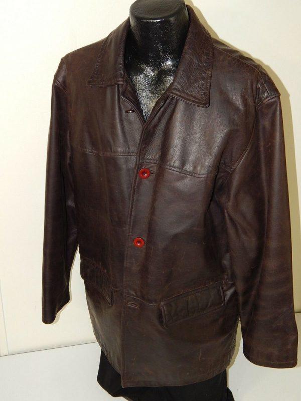 Oiled Leather Jacket