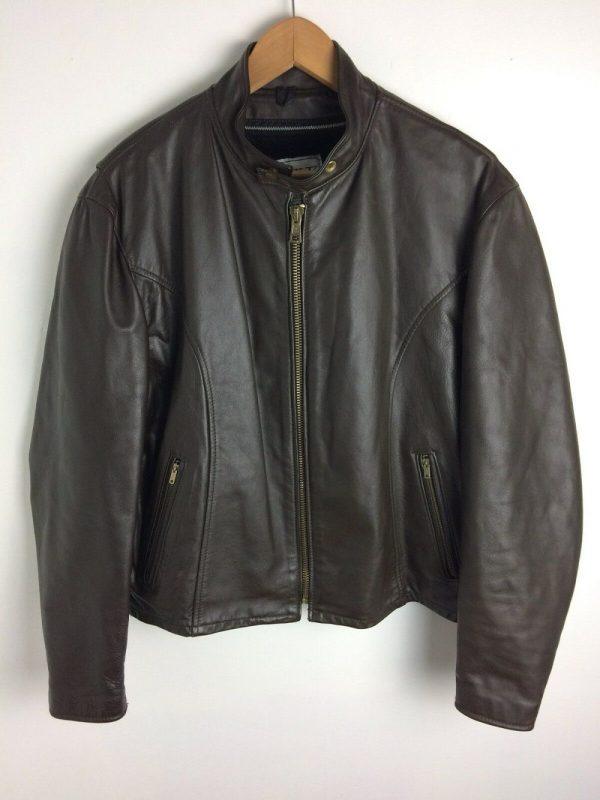 Park V Leather Jacket