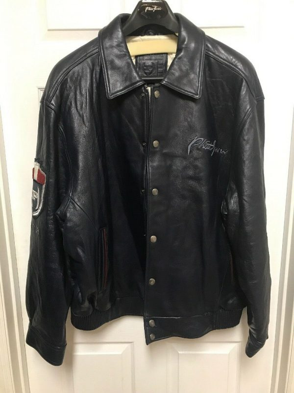 Phats Farm Leather Jacket