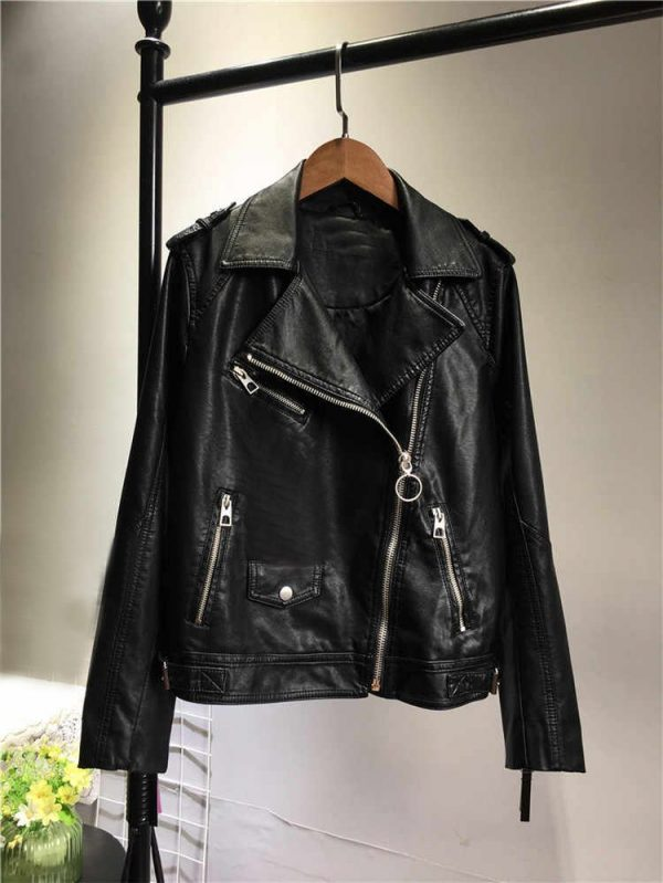 Pink Panthers Leather Jacket