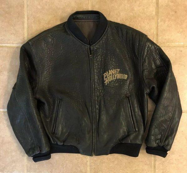 Planet Hollywoods Leather Jacket