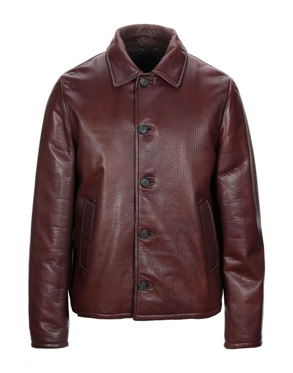 Prada Leather Jacket Mens
