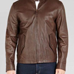 Ralph Lauren Barracuda Leather Jacket