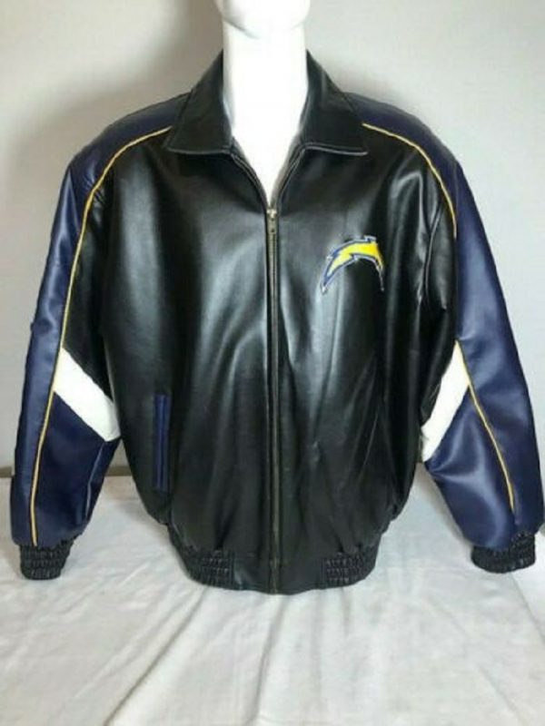 San Diego Chargers Leather Jacket