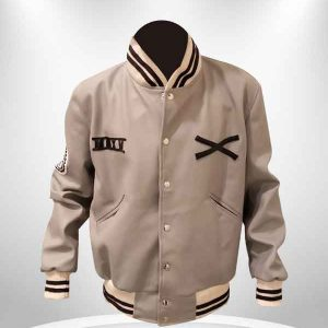 The-Weeknd-Roots-XO-White-Varsity-Tour-Leather-Jacket