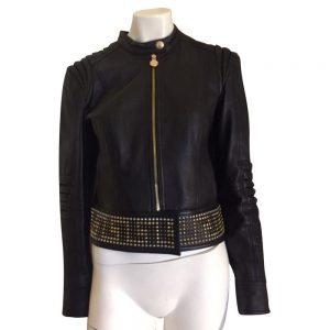 Versace H&m Leather Jacket