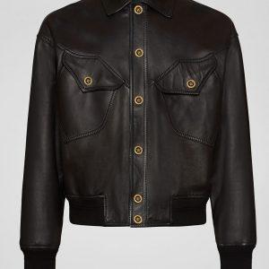 Versace Leather Jacket