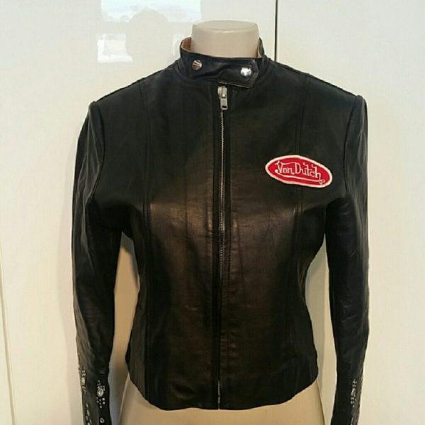 Von Dutch Leather Jacket