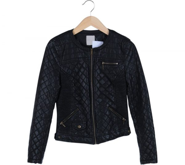 Zara Quilted Leather Jacket