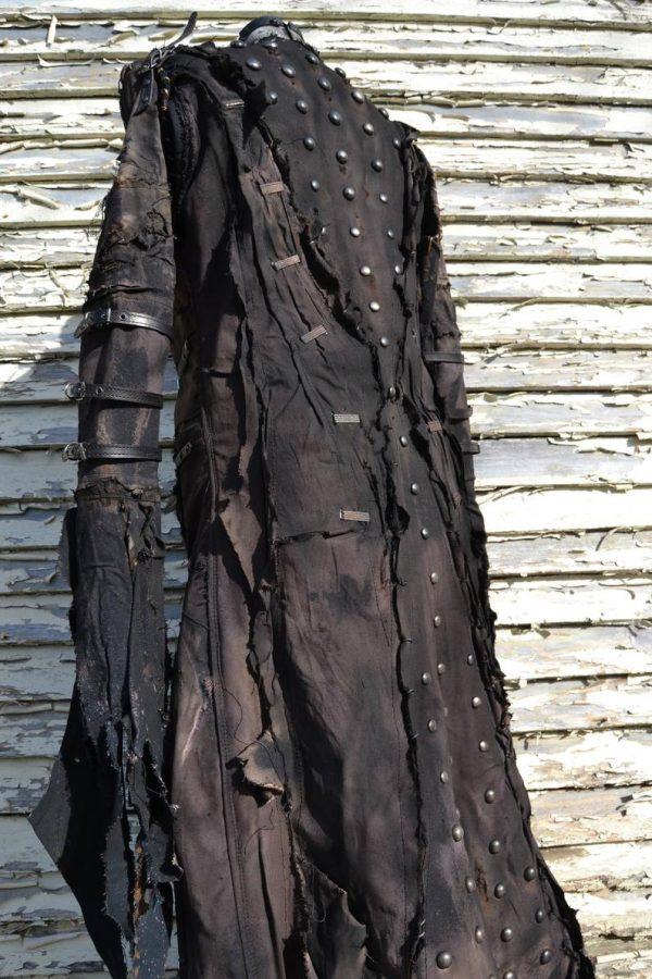 he Goblin SceneSick Stage Wear Ceremonial Robe Horror Costume Fantasy Metal Rock Cosplay Wardrobe Hood Nightmare