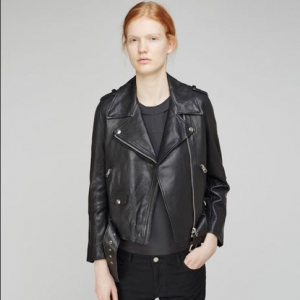 Acne Studios Mapes Leather Jacket