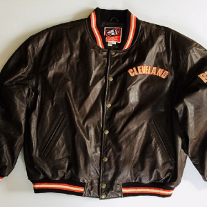 Cleveland Browns Leather Jacket