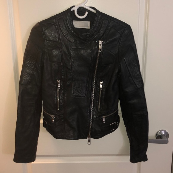 Closed Leather Jacket