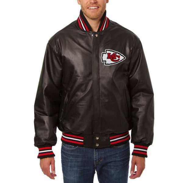 Kansas City Chiefs Leather Jacket