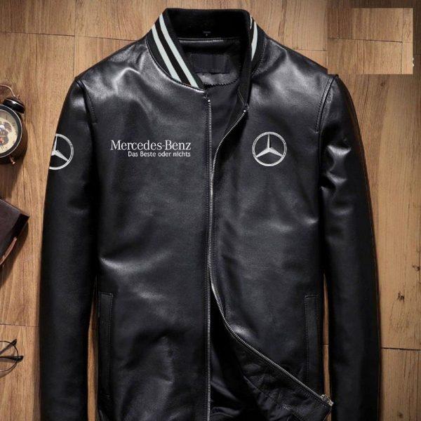 Mercedes Benz Leather Jacket