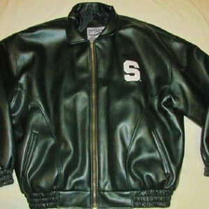 Michigans State Leather Jacket