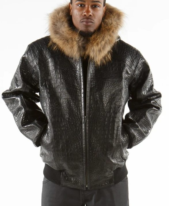 Pelle Pelle Hooded Leather Jacket
