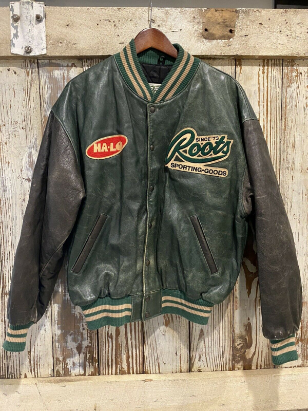 Root Leather Jacket
